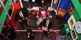 The Fanatics wedding band for hire staffordshire